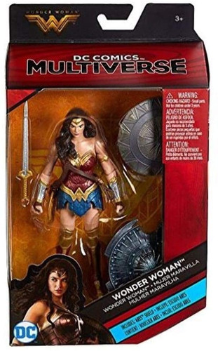 Wonder Woman Multiverse  Exclusiva Toys R Us Espada Escudo