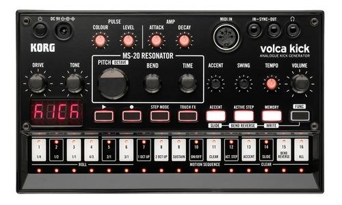 Mini Sintetizador Korg Volca Kick Nuevo Garantia S/s