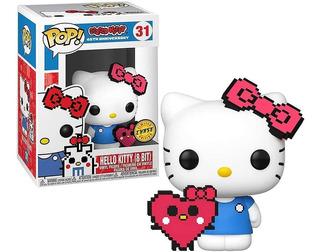Funko Pop! 31 Hello Kitty 8 Bit Chase 45 Aniversario Candos