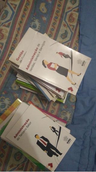 Kit De Livros + Dvds E Cds Do Curso De Administração
