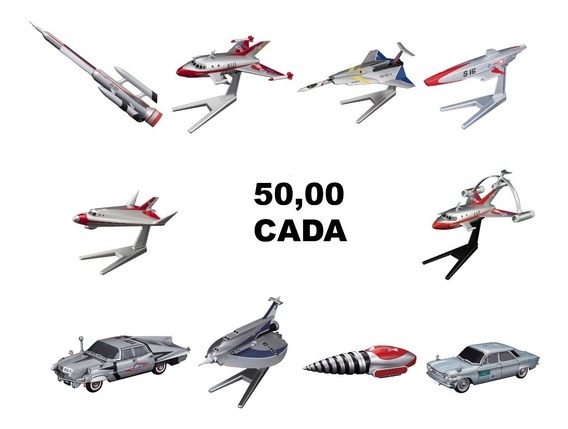 Mecha Collection Nave Ultraman Series Plastic Model - Bandai