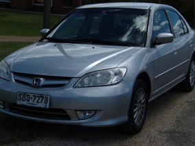 Honda Civic 1.7 Ex At Extra Full. Patente Paga Hasta 2019