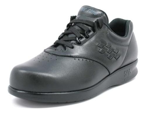 Zapatillas Con Cordones Freetime Sas Para Mujer (6 M, Negro)