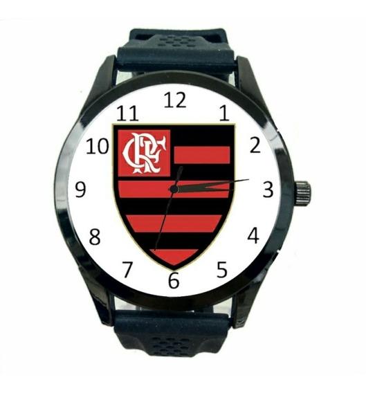 Relógio Flamengo Feminino Futebol Esporte Club Time Fc T109