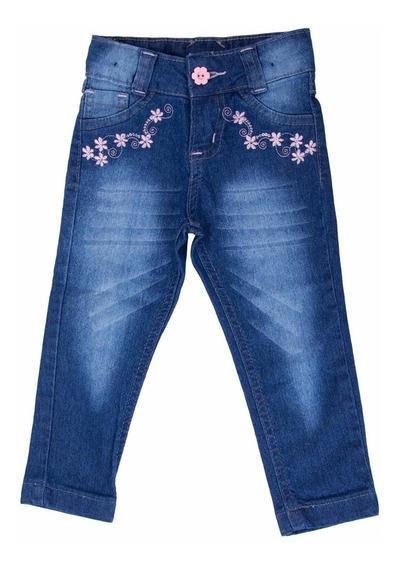 #kit 3 Calças Jeans Infantil Feminina Do 2 Ao16 Anos Lindas