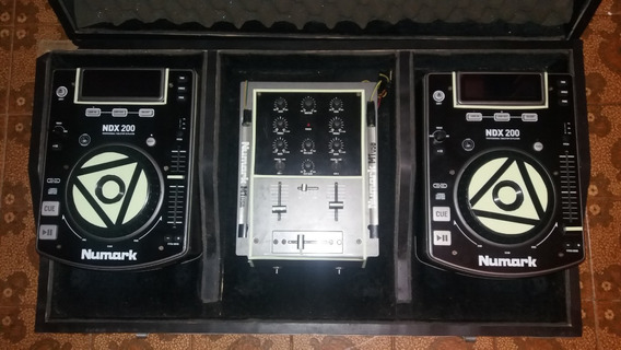 Cdj Numark Ndx200 Com Mixer M1 Usb