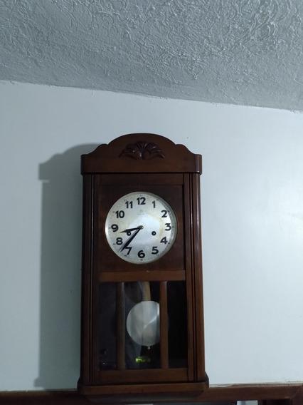 Reloj Antiguo De Péndulo Junghans
