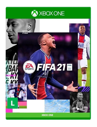 Imagen 1 de 4 de FIFA 21 Standard Edition Electronic Arts Xbox One  Físico
