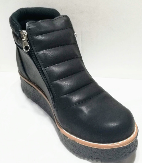 Zapato Botita Borcego Calzado Mujer Fiorcalzados