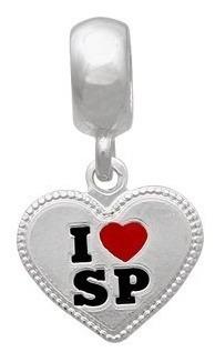 (06pr-004) Berloque I Love Estados Prata 925