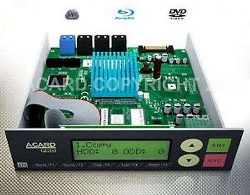 Imagen 1 de 7 de Ccontroladora Acard 12 Unidades Blu Ray/ Dvd/ Cd Sata