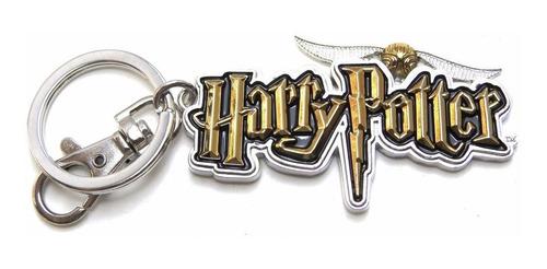 Imagen 1 de 1 de Llavero Harry Potter Logo Metalico