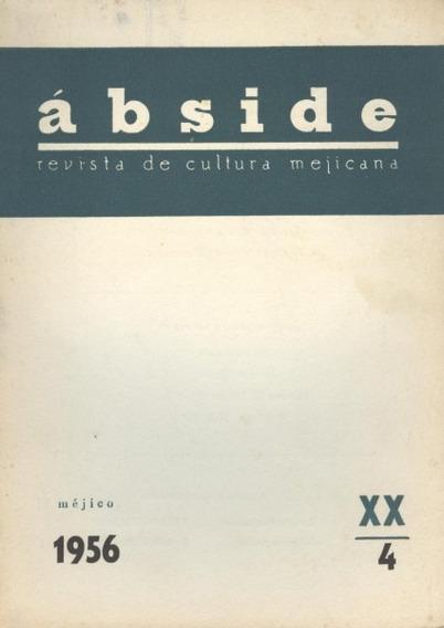 Ábside Revista De Cultura Mexicana Año X X , N - 4
