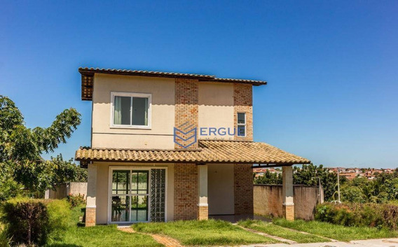 Casa Com 3 Dormitórios À Venda, 155 M² Por R$ 245.000 - Lagoinha - Paraipaba/ce - Ca0785