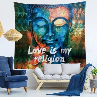 Diseño Textil/yoga/buda/love Is/color/cubrecama/decoración/