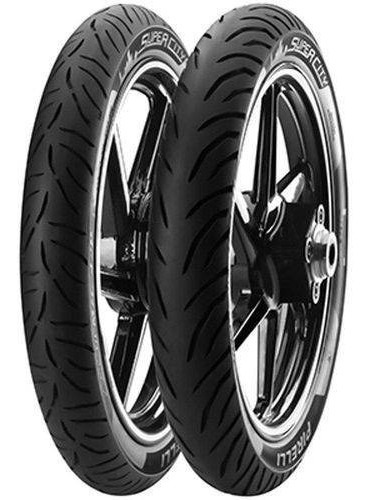 Par Pneu Pirelli 275-18 + 90/90-18 Super City Honda 150 125