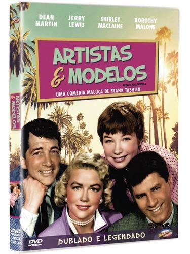 Dvd Artistas E Modelos, Jerry Lewis Shirley Mclaine 1955 + | Mercado Livre