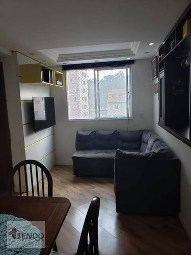 Imagem 1 de 15 de Apartamento À Venda, 46 M² Por R$ 218.000,00 - Parque São Vicente - Mauá/sp - Ap2659