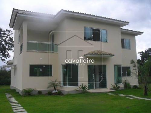 Casa Com 4 Dormitóriose,  Área Gourmet À Venda, 240 M² Por R$ 1.300.000 - Ubatiba - Maricá/rj - Ca0277