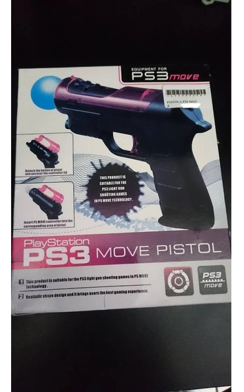 Pistola Arma Ps3 Move Pega