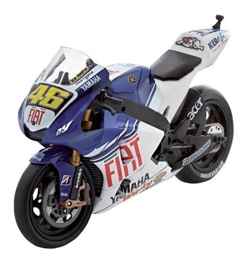 Yamaha Yzr-m1 2008 Valentino Rossi 46 Motos Competicion 1/18