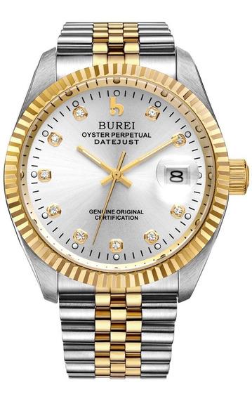 Relógio Burei Luxury Automatic B00sftrowa
