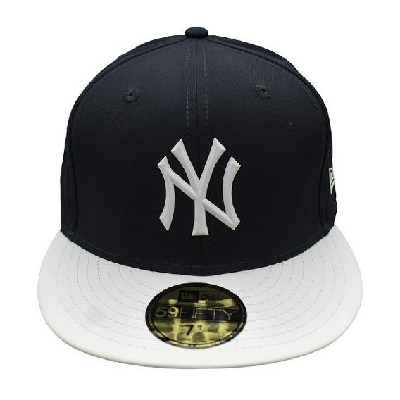 Gorra Yankees Azul 59fifty New Era 7 1/8 Beisbol Deporte