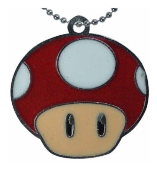 Super Mario Bros Dijecollar Mush Room