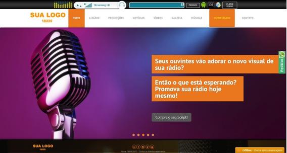 Script Site Completo Para Rádios Em Php Com Administrativo.