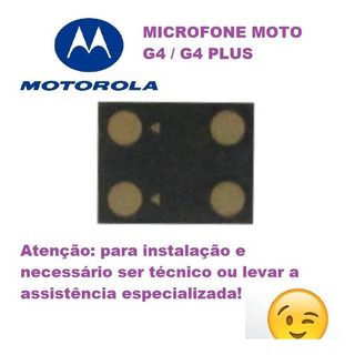Microfone Moto G4 / G4 Plus
