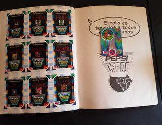 Album Pepsi Cards Coleccion 1995
