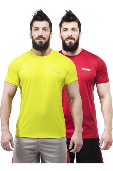 Pack X2 Remeras Entrenamiento Crossfit Running Boxeo Gym