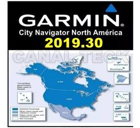 Atualização Mapa Garmin América Do Norte 2019.30 Nova Versão