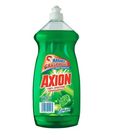 Lavatrastes Axion Limón Líquido 750 Ml