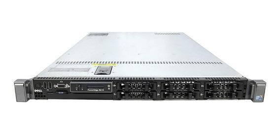 Servidor Dell Poweredge R610 2x X5650 32gb Ram 2x146gb Sas
