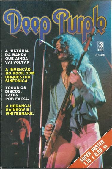 Revista Poster Somtres-deep Purple-raro