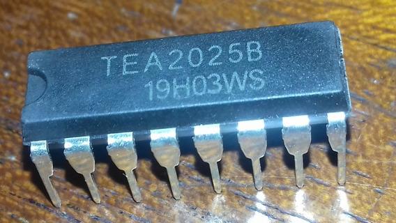20 X Circuito Integrado Tea2025 / Kit Com 20 Peças