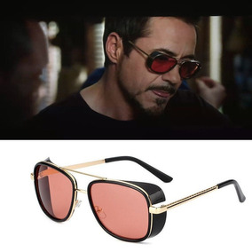 003cdd373 Óculos De Sol Masculino Homem Ferro Iron Man Tonystark Uv400