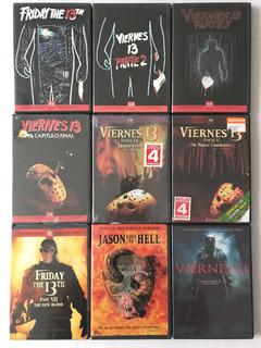 Colección 10 Peliculas Dvd Viernes 13 Friday The 13th Jason