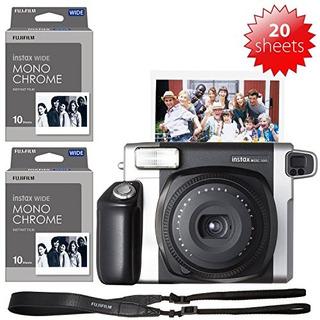 Camara Fujifilm Instax Wide 300 Y 2x Hojas De Pelicula Monoc