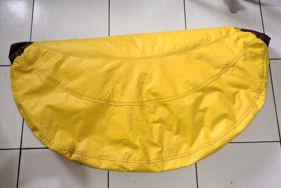 Puff Pufe Banana Infantil Tok&stok - Usado - Sem Enchimento