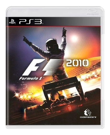 Formula 1 2010 Ps3 Mídia Física Pronta Entrega