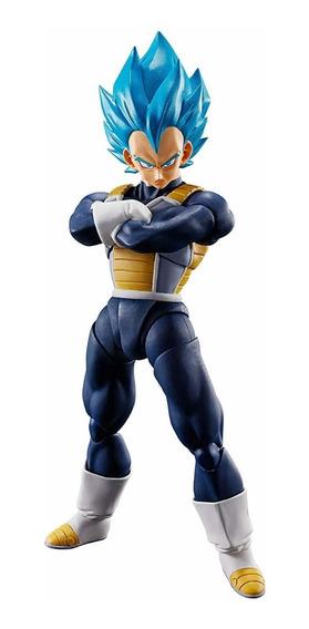 Boneco Sh Figuarts Vegeta God Blue Ssgss Dragon Ball Lacrado