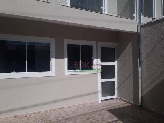 Sobrado Com 2 Dormitórios À Venda Por R$ 162.000,00 - Jardim Panorama - Caçapava/sp - So0671