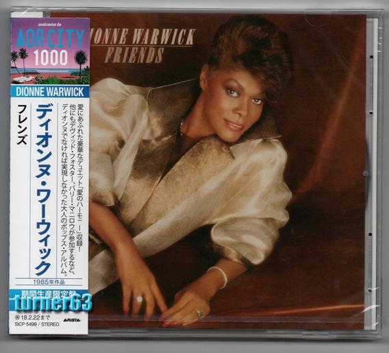 Cd * Dionne Warwick * Friends * Original Japan Nuevo C/o B I
