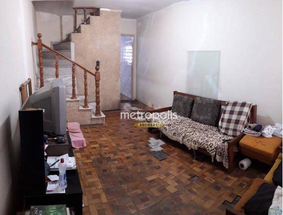 Sobrado Com 2 Dormitórios À Venda, 128 M² Por R$ 387.000 - Osvaldo Cruz - São Caetano Do Sul/sp - So0830