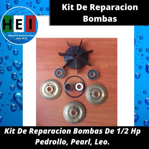 Kit De Reparacion Bombas De 1/2 Hp Pedrollo, Pearl, Leo.