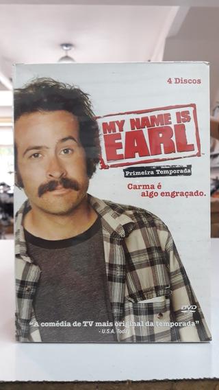 Box Série My Name Is Earl -original E Lacrado