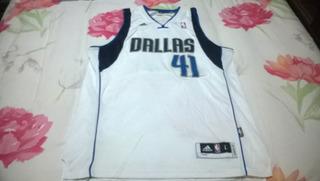 Camisa De Basquete Dallas Mavericks 41 Dirk Nowitski