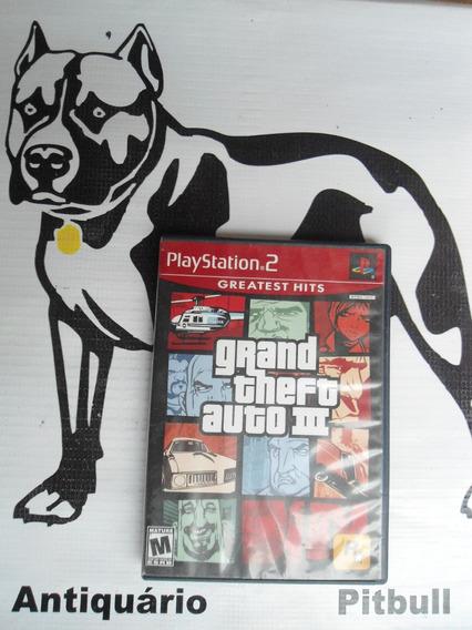 Gta Grand Theft Auto 3 Playstation 2